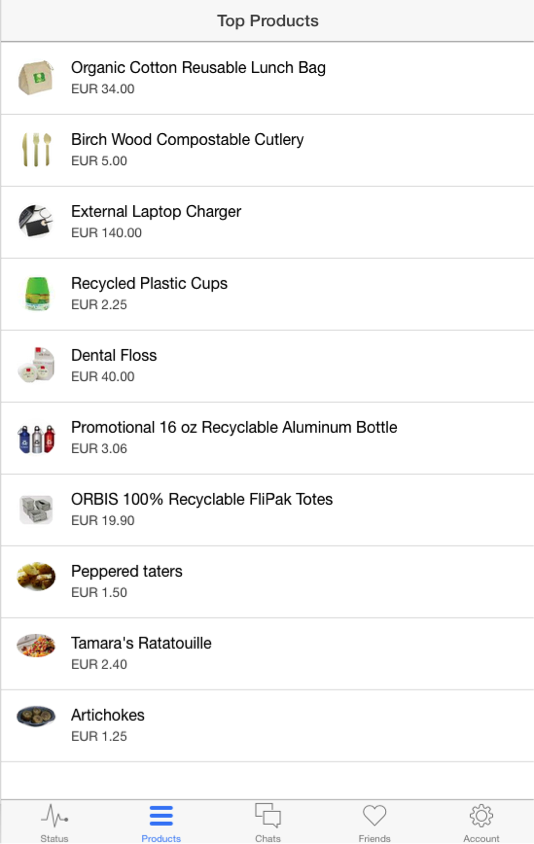 cms mobile app top products