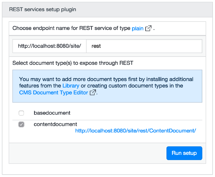 Swagger Integration with Hippo CMS RESTful | Bloomreach
